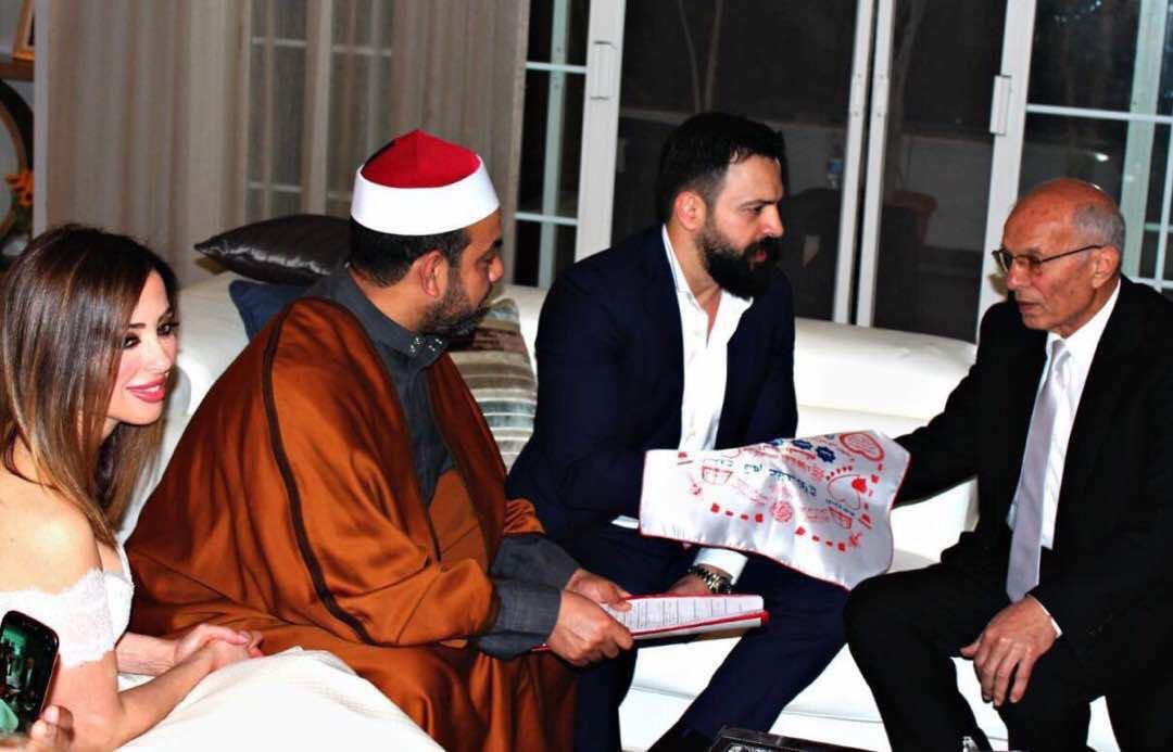 زواج تيم حسن ووفاء الكيلاني