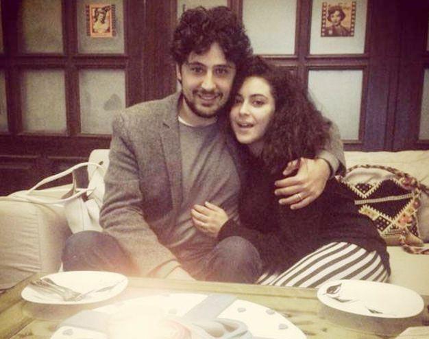 حازم ابن الممثل السوري أيمن زيدان تزوج من الممثلة المصرية نهى العابدين