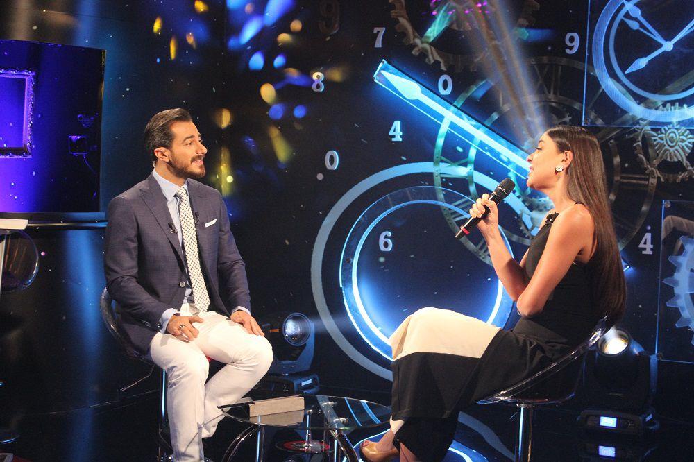 ملكة جمال لبنان رهف عبدالله والإعلامي والممثل شادي ريشا