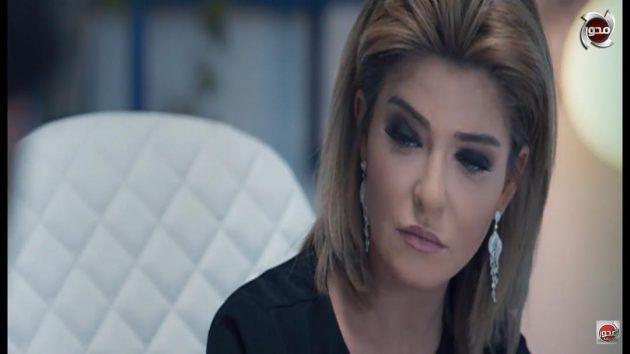 الممثلة المصرية علا غانم في لقطة من مسلسل (ظل الرئيس)