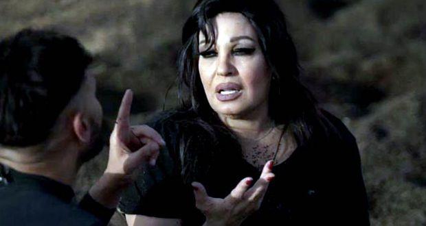 الراقصة المصرية فيفي عبده والممثل المصري رامز جلال