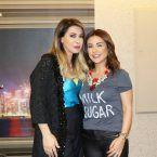 النجمتان اللبنانيتان ماغي بو غصن ونوال الزغبي سويأ