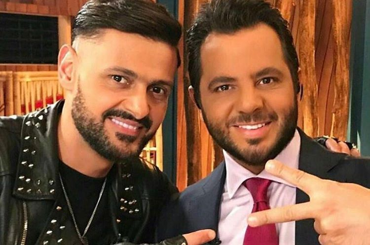 رامز جلال ونيشان في الكواليس