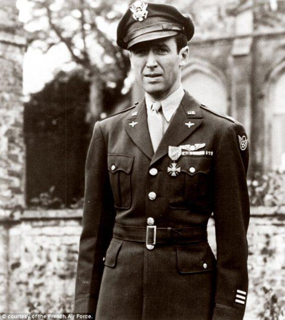 جيمي ستيوارت في الخدمة العسكرية