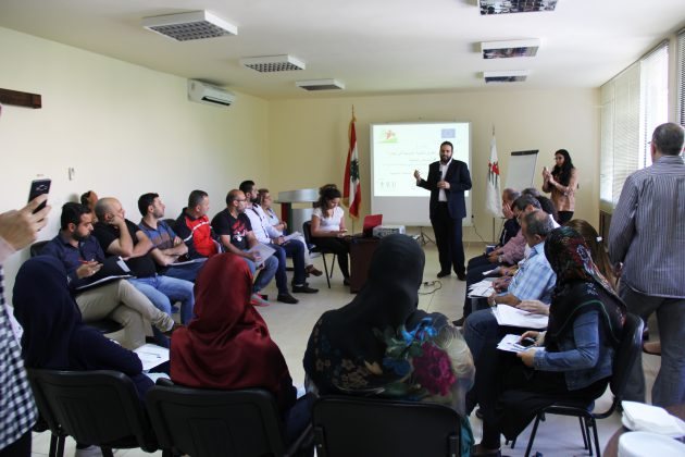 """مشروع """"الدعم التقني لتعزيز التنمية الشبابية في لبنان"""