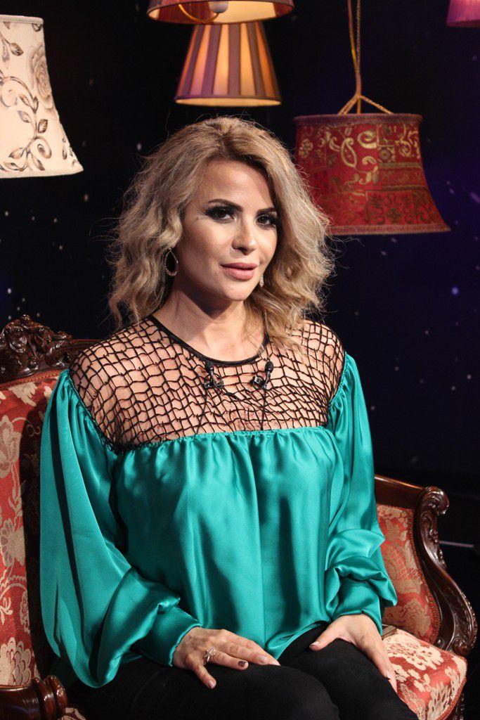 الفنانة اللبنانية باسمة