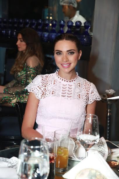 الممثلة اللبنانية داليدا خليل