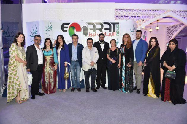 صورة جماعية للضيوف