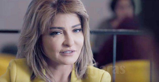 علا غانم زوجة والد ياسر جلال وشريكته في الشركة التي يديرها بعد أن ترك الحرس الذي صار قديماً ما يعني أنه كان من حرس حسني مبارك