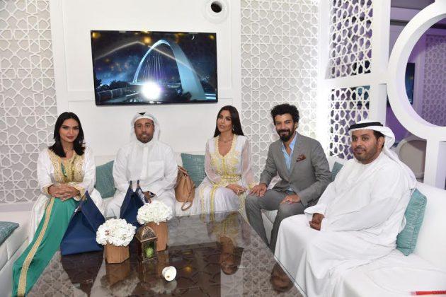 الفنانة اللبنانية ليلى اسكندر وزوجها النجم السعودي يعقوب الفرحان