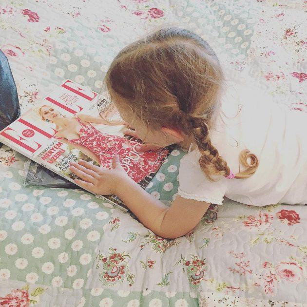 أحدث صورة لـ لارا ابنة مريم أوزرلي