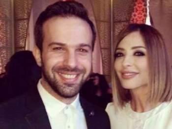 الإعلامية المصرية وفاء الكيلاني برفقة شقيق زوجها تيم حسن