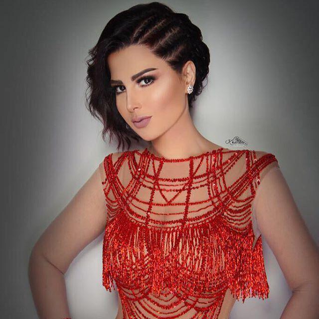 الفنانة الكويتية شمس