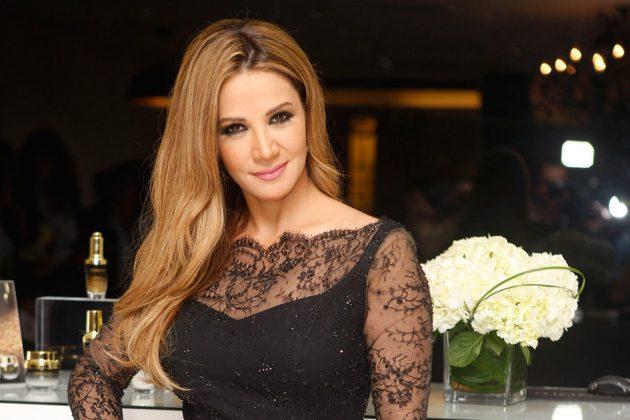 النجمة اللبنانية ديانا حداد