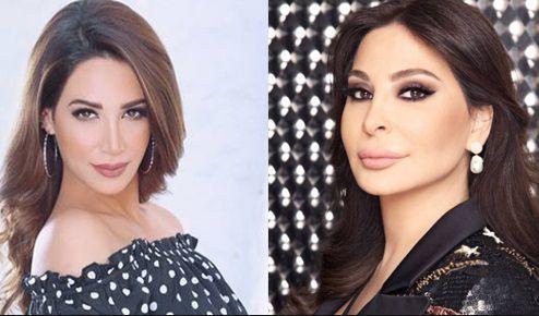 المطربتان اللبنانيتان إليسا وديانا حداد