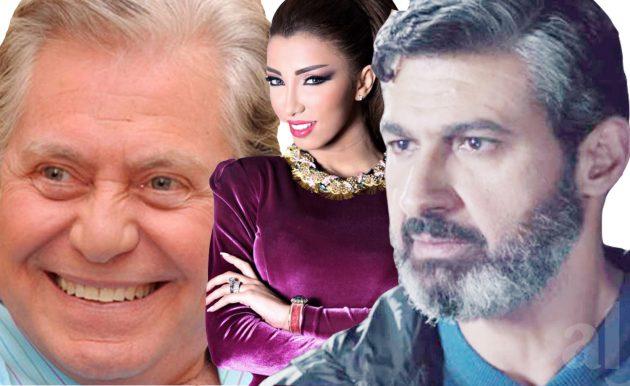دنيا بطمة حسين فهمي ياسر جلال نجوم برج الحمل