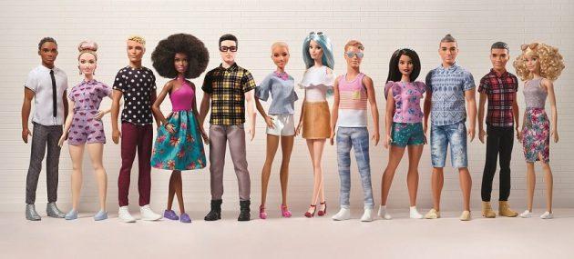 كين مع صديقته باربي