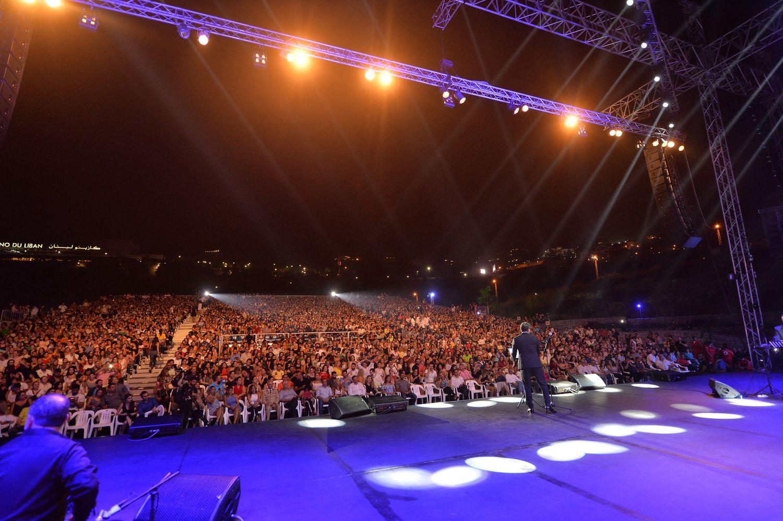 حضر الآلاف حغل وائل كفوري في جونية