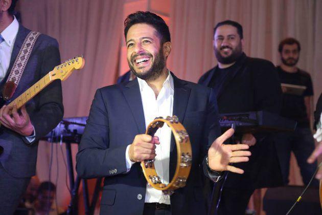 النجم المصري محمد حماقي