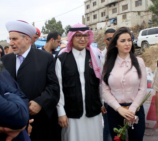 السفيرة تهامة بيرقدار تقيم مشروعاً انسانياً للاجئين في لبنان