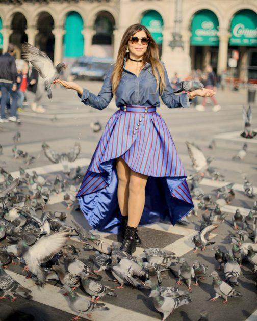 مي حريري صوّرت أغنيتها في مدينة ميلانو