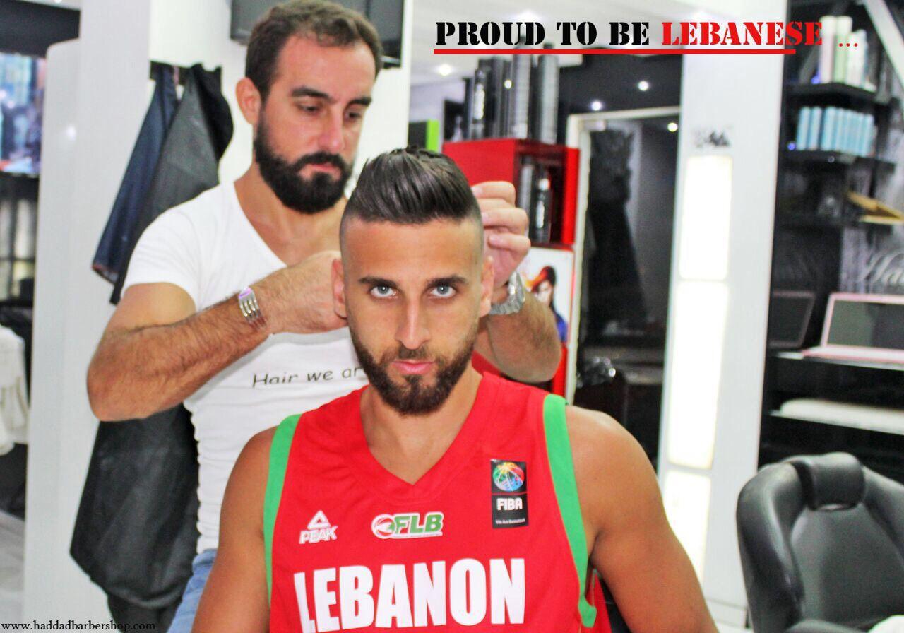 اللاعب في المنتخب اللبناني أمير سعود
