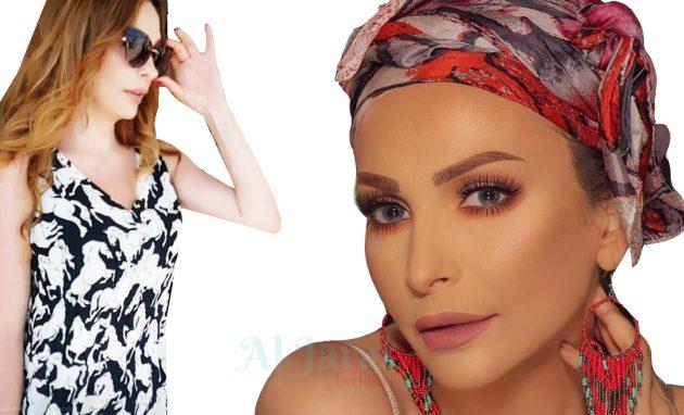 الفنانة اللبنانية أمل حجازي