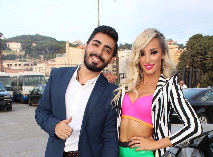 الفنانة اللبنانية مايا دياب وإياد