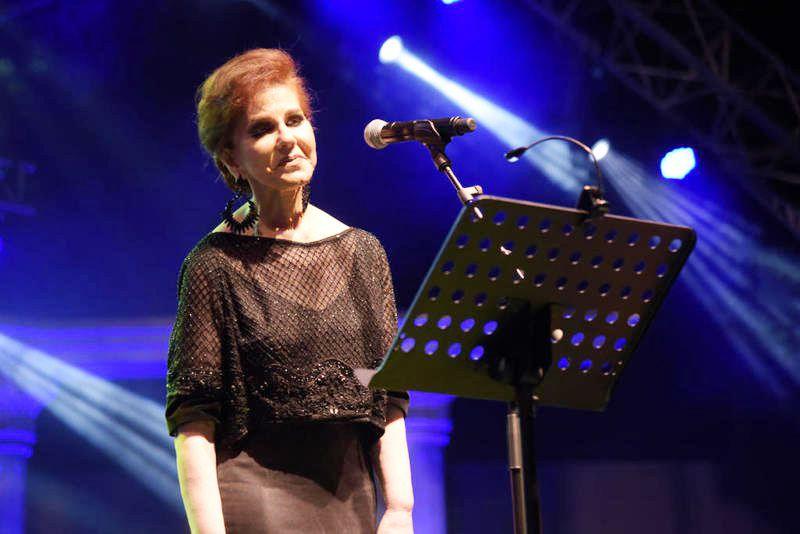 ميادة الحناوي أحيت حفلاً في بيروت