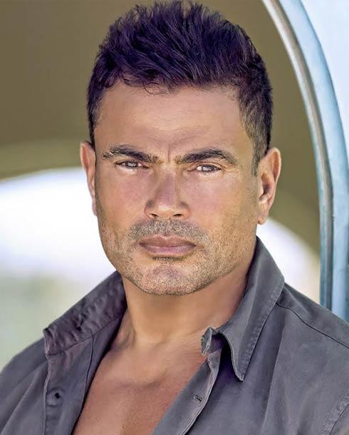 النجم المصري عمرو دياب