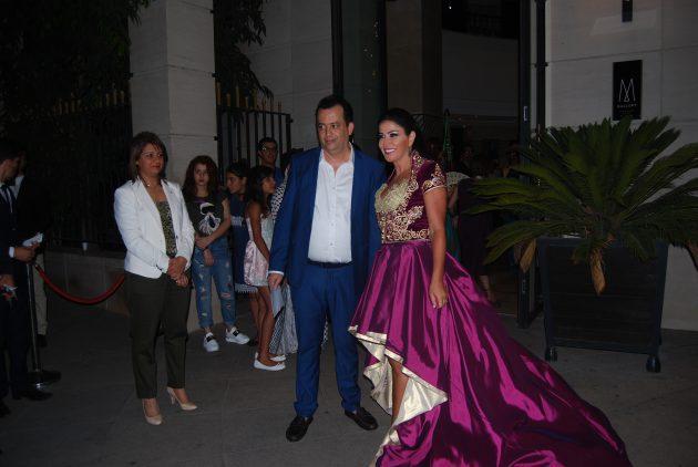 جومانا مراد برفقة زوجها