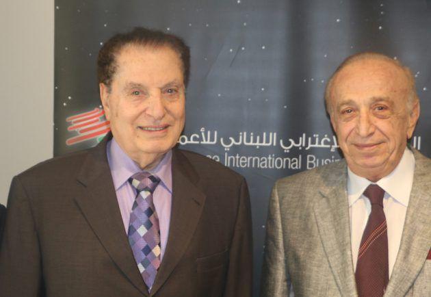 رئيس المجلس الإغترابي اللبناني للإعمال الدكتور نسيب فواز