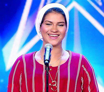 المطربة المصرية الشابة إيمان الشميطي