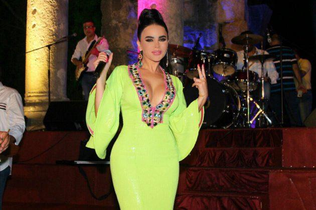 النجمة اللبنانية ليال عبود