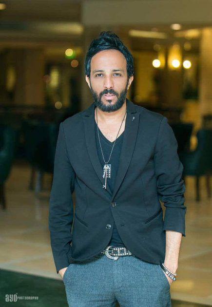 الفنان المصري أحمد عصام