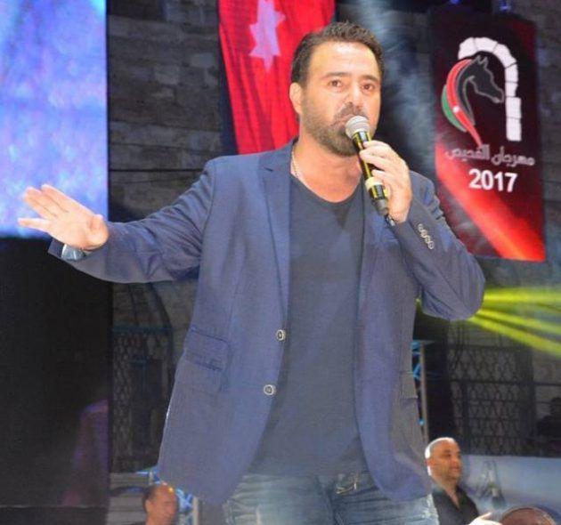 الفنان اللبناني عاصي الحلاني من حفل مهرجان الفحيص