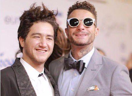 النجمان المصريان أحمد مالك وأحمد الفيشاوي