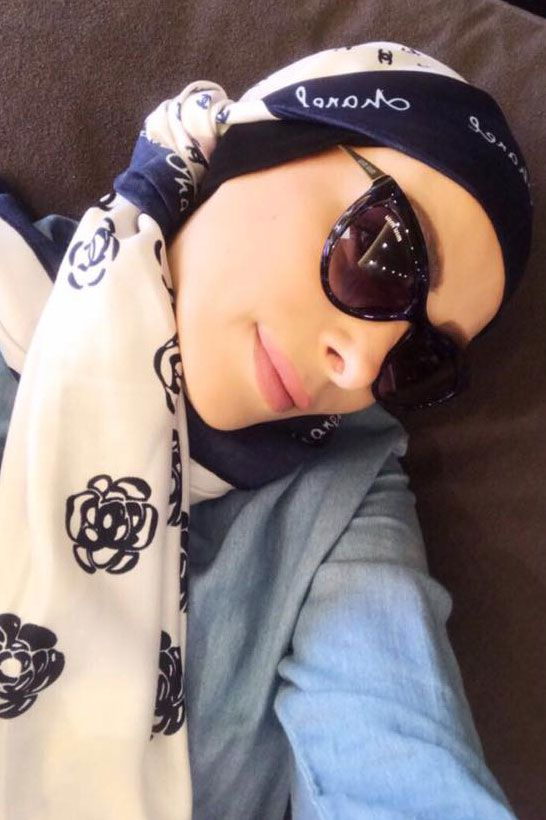 أحدث صورة لأمل بعد أن قررت الاعتزال وارتداء الحجاب