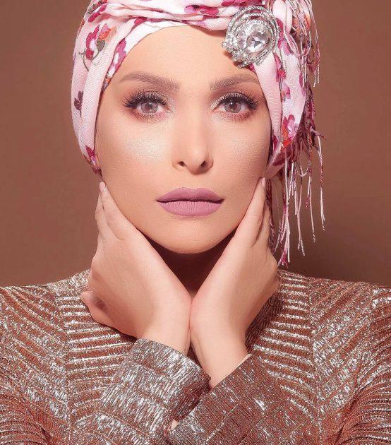 أمل حجازي أجمل كثيراً بالحجاب