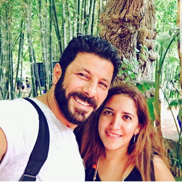 إياد نصار وزوجته بأحدث ظهور