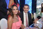 الفنانة المصرية داليا البحيري وزوجها