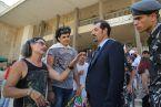 الممثل اللبناني عادل كرم والمخرج اللبناني زياد دويري