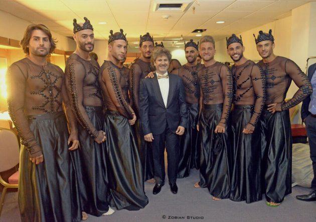 فراس حمدان برفقة المتسابقين