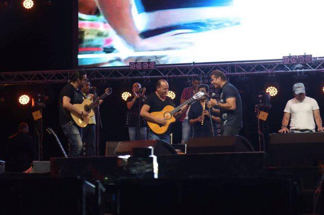 عمرو دياب أحيا حفلاً ناجحاً في الغردقة