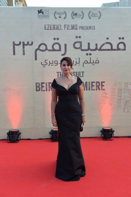 الممثلة اللبنانية كريستين الشويري