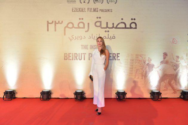 الممثلة اللبنانية ديامان أبو عبود