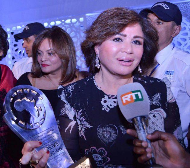 إلهام شاهين وتكريم جديد لها في المغرب