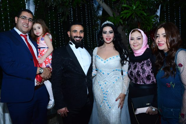 النجمان المصريان سمية الخشاب وأحمد سعد احتفلا بزفافهما بحضور أهلهما وأصدقائهما المقربين فقط