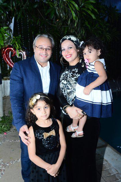 جانب من حفل زفاف سمية الخشاب وأحمد سعد