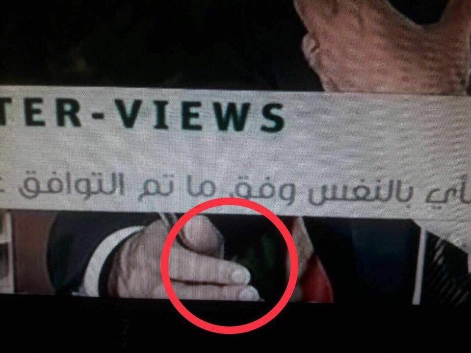 أظافر سعد الحريري طويلة في المقابلة